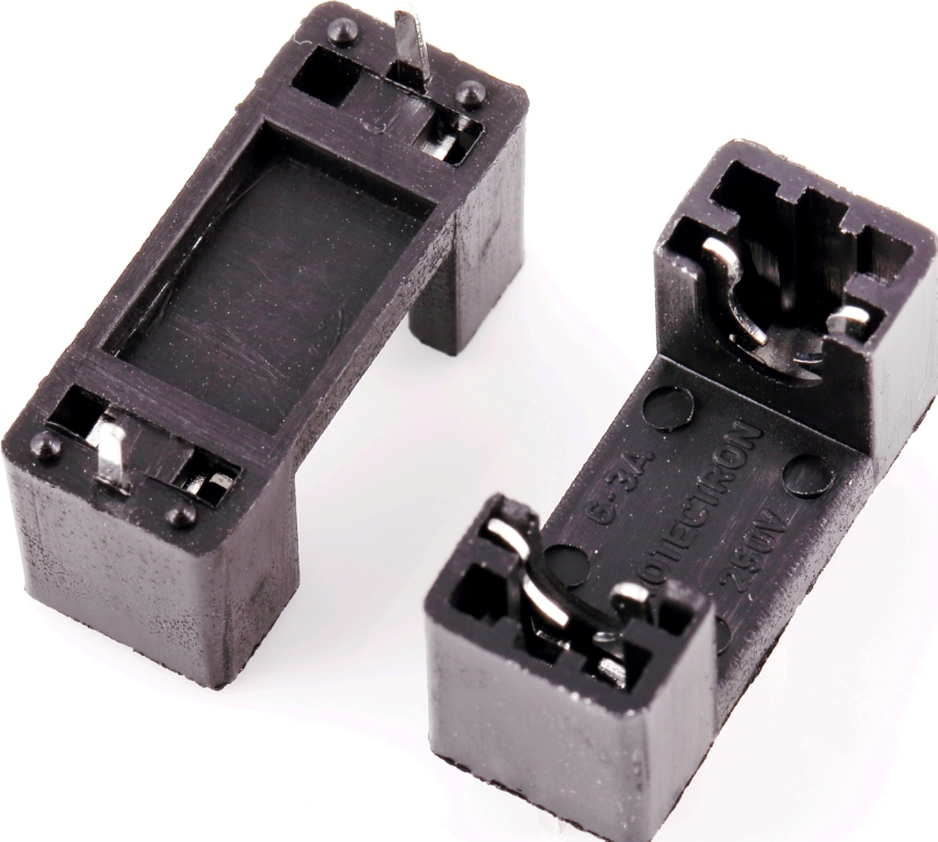p8029-12 pcb mount fuse holder for 5 x 20mm fuses box type ... upgrading to breaker box fuse box black metal fuse box #13