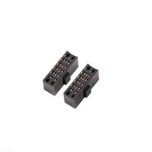 2.54mm(0.100'') Pitch Female Header 8.5mm Base With Polarisattion Pad