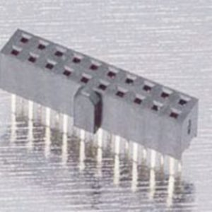 2.00mm (0.079'') Pitch Female Header 4.0mm Base With Polarisation Pad