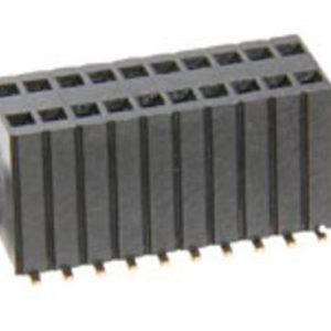 1.27x2.54mm Pitch Female Header Double Row Surface Mount 5.8mm Base