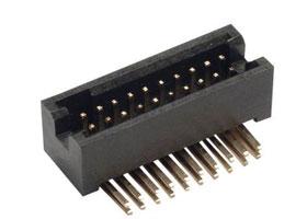 1.27x1.27mm Pitch Box Header, 5.7mm Base