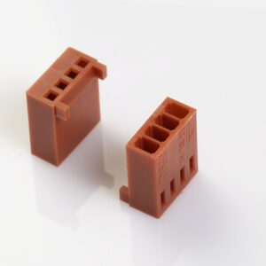 """2.54mm(0.100"""") Pitch Connectors Friction Lock, Solid Type"""