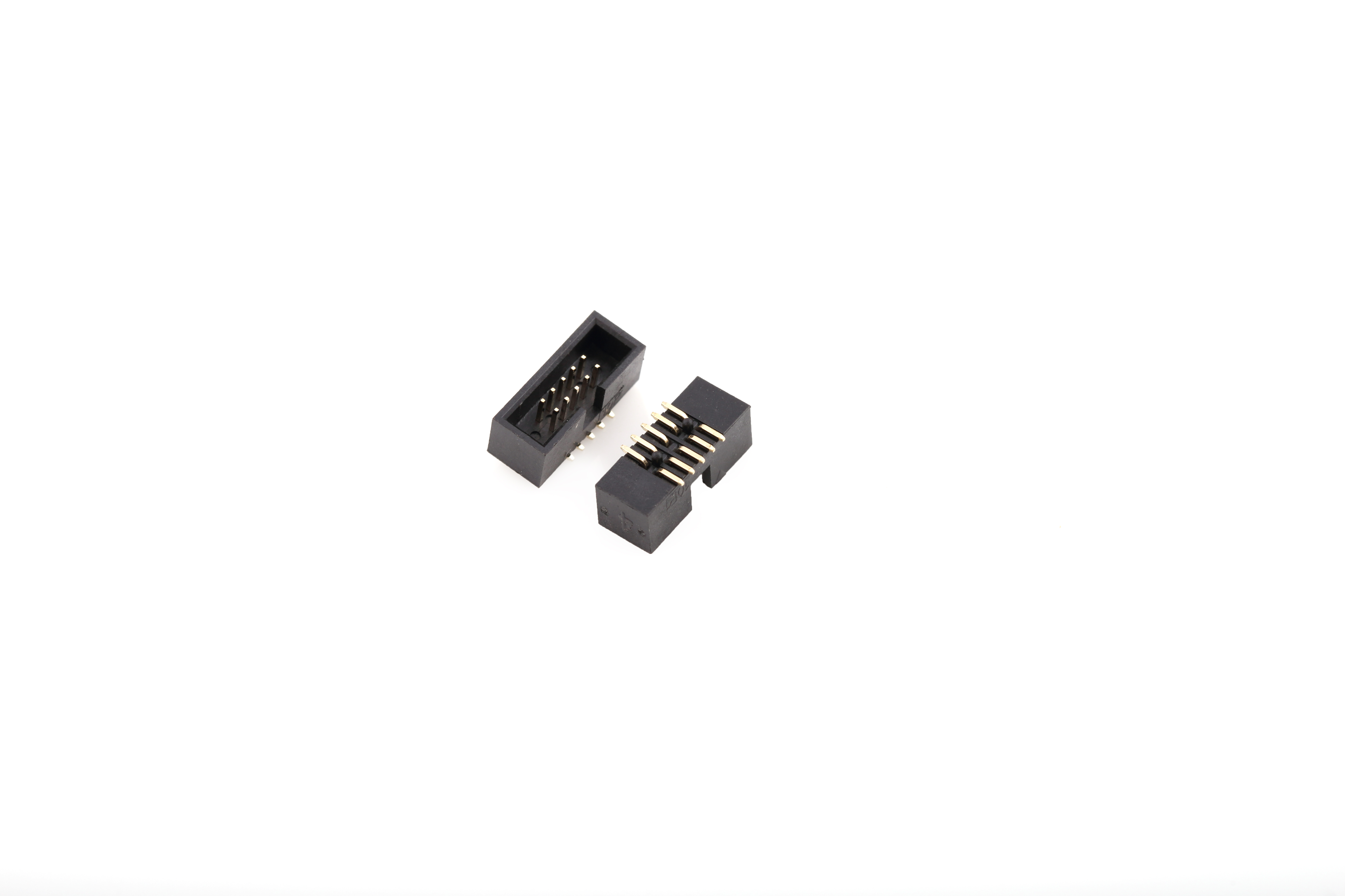 1 27 215 1 27 Pitch Box Header Double Row Surface Mount P9635s