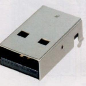 USB A Type Male Plug Connectors